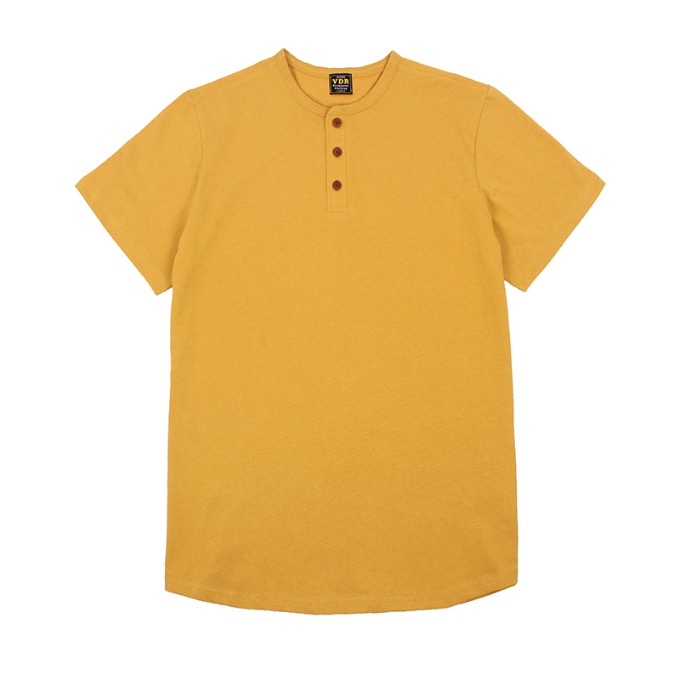COZY HENLY NECK [Deep Yellow]